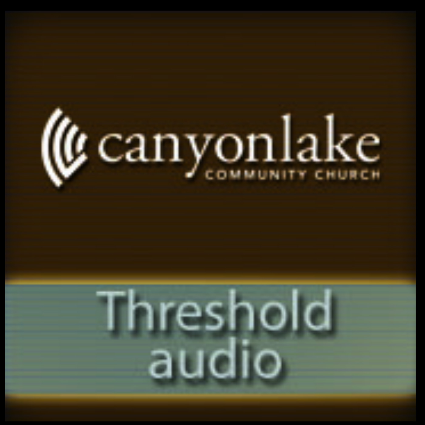 Canyon Lake Community Church Threshold