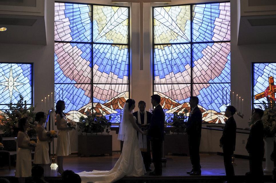 wedding presbyterian church La canada