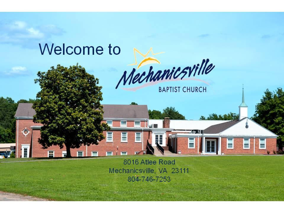 mechanicsville baptist church media pictures