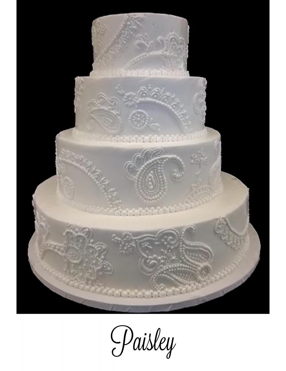 Paisley Cake Pattern