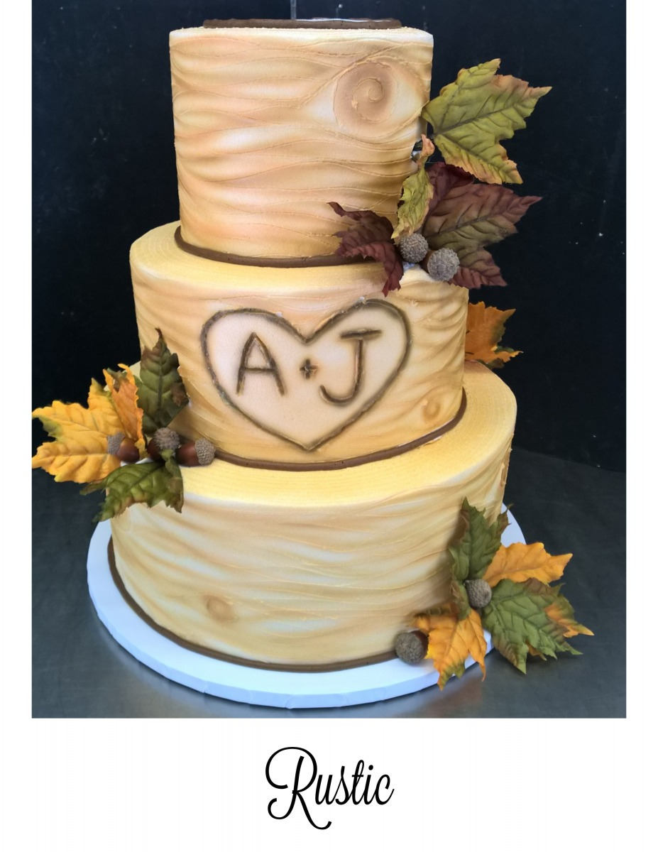 Oakmont Bakery / Weddings / Wedding Cake Gallery