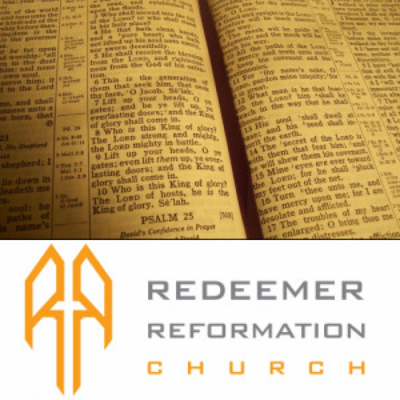 Redeemer Reformation Church Sermons