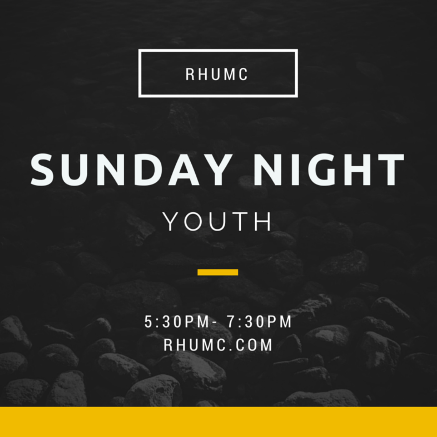 RHUMC Youth Talks