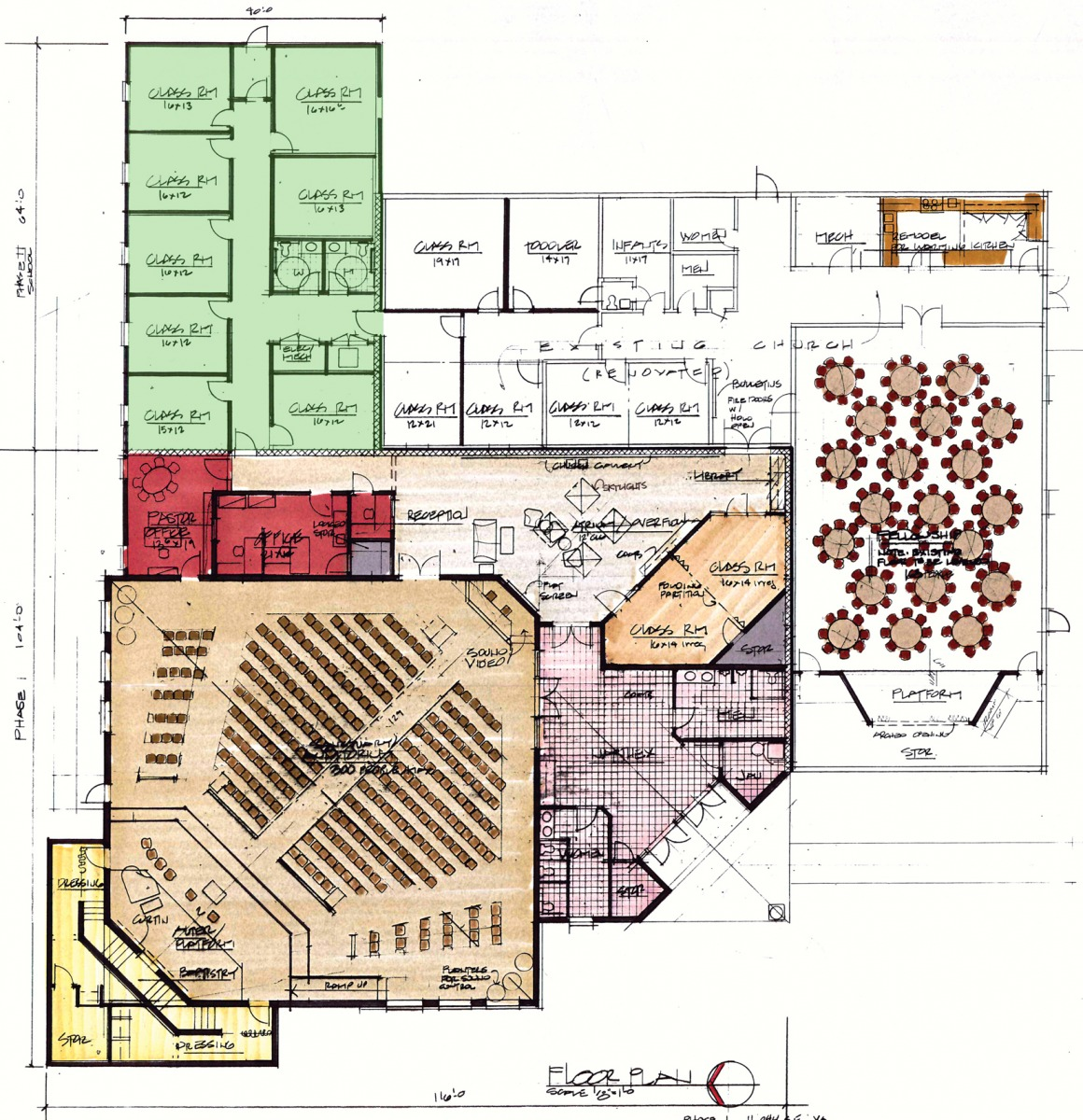 Church building plans and pictures joy studio design for Modern church designs and floor plans